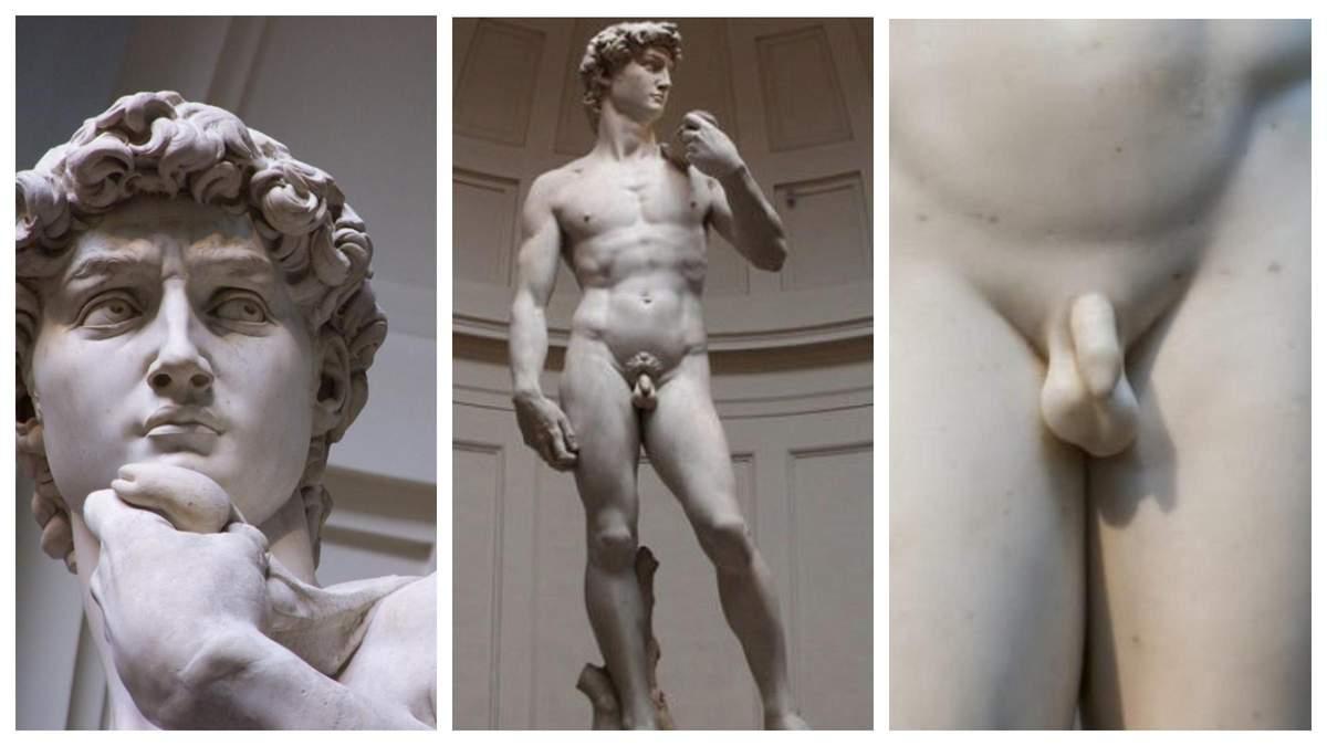 Чому в античних статуй маленькі пеніси: 8 причин і фото