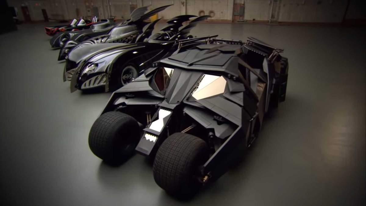 Автомобілі Бетмена: на яких машинах їздив супергерой в кіно