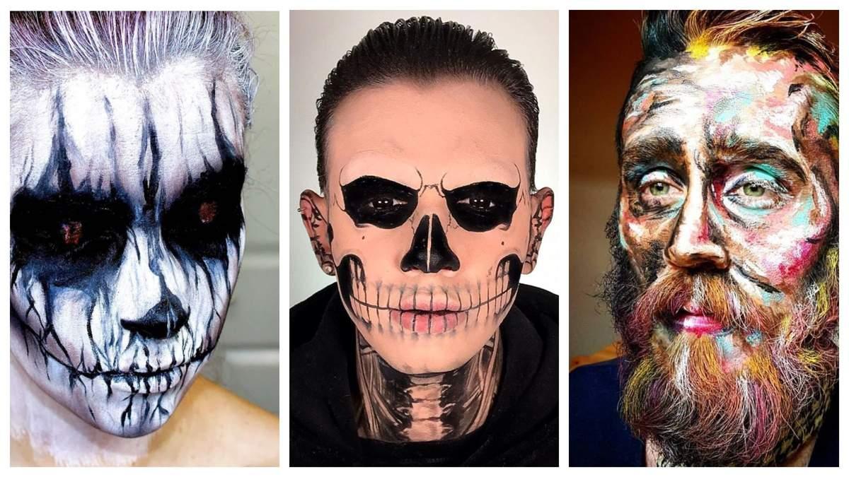Грим на Хелловін 2020 для чоловіків: страшні образи – фото