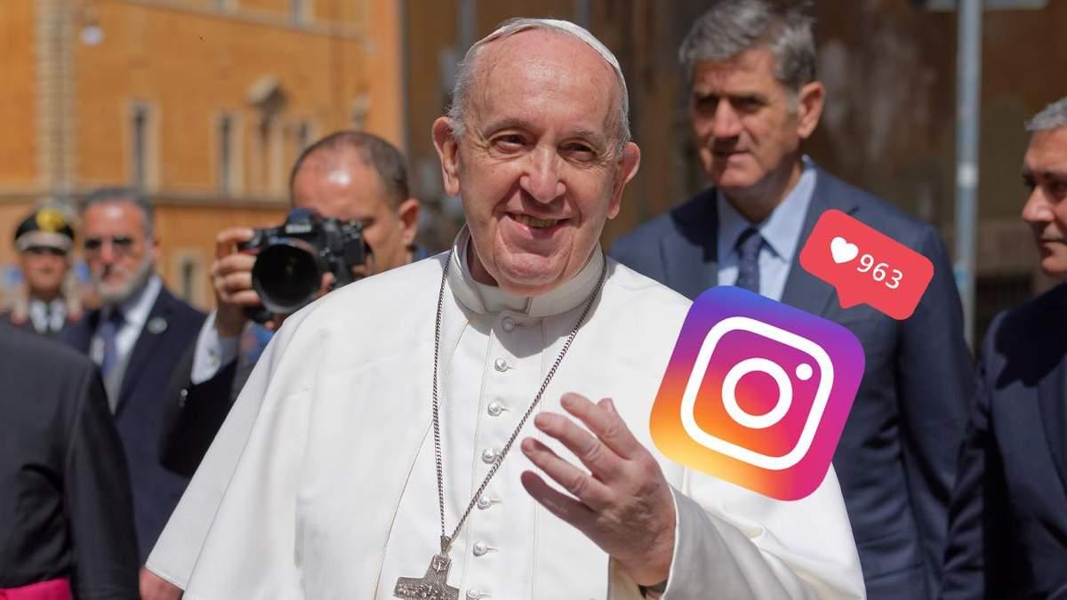 Папа Римський вподобав пікантний пост моделі: тепер вона впевнена, що потрапить до раю