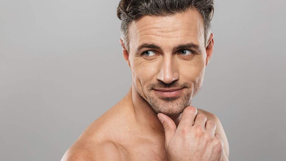 Як визначити свій тип шкіри обличчя чоловікові