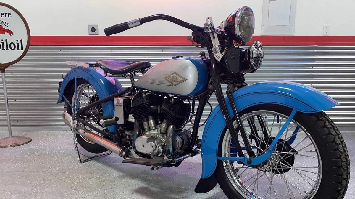 На продаж виставили Harley-Davidson VD 1934 року: його захоче кожен фанат байків