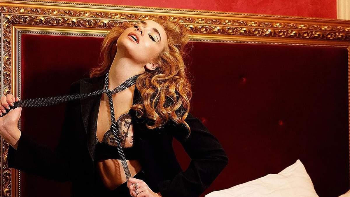 Даша Майстренко знялася у відвертому образі: гарячі фото моделі