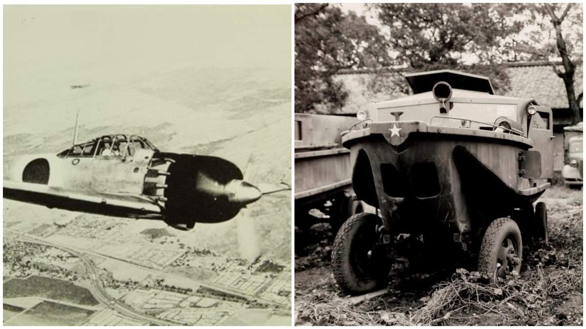 Японія: що випускали автогіганти у часи Другої світової війни