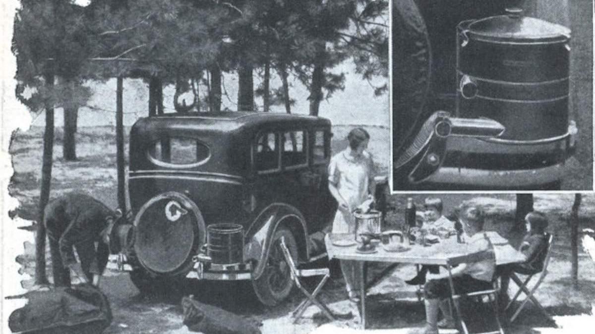 Кухонный автомобиль: странные изобретения, не дожившие до наших дней