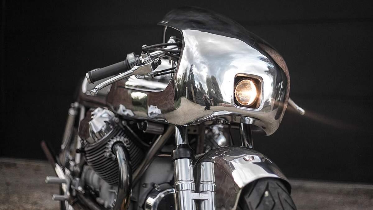 Moto Guzzi 1000 SP – хромований байк, який вразить фанатів Термінатора