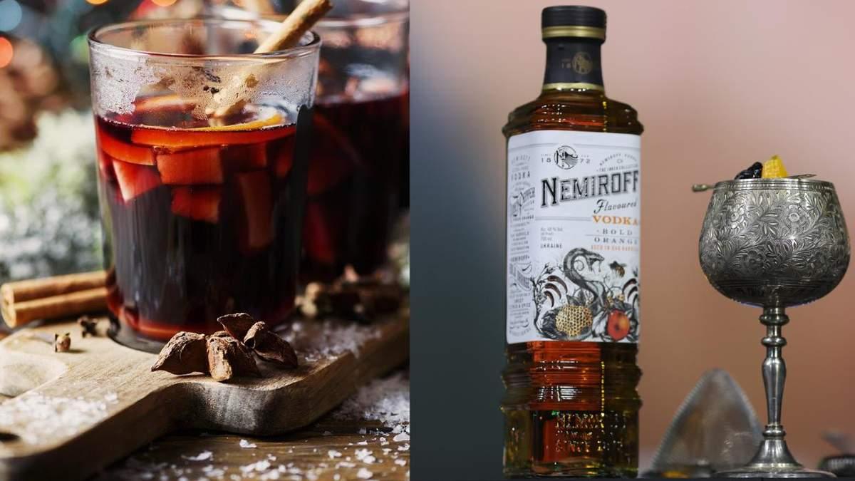 Горячий алкогольный коктейль Hot Plum & Orange – рецепт приготовления