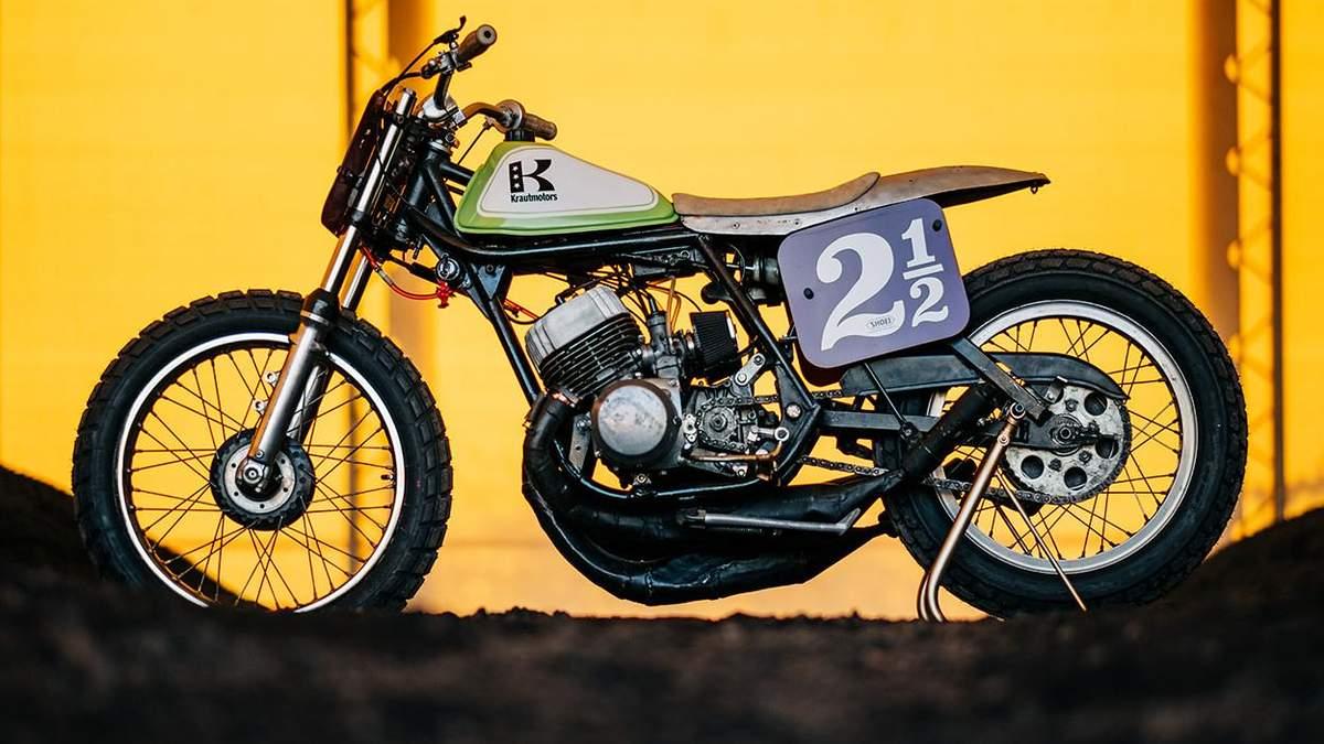 Мастера из Германии подарили новую жизнь Kawasaki H1 – крутые фото
