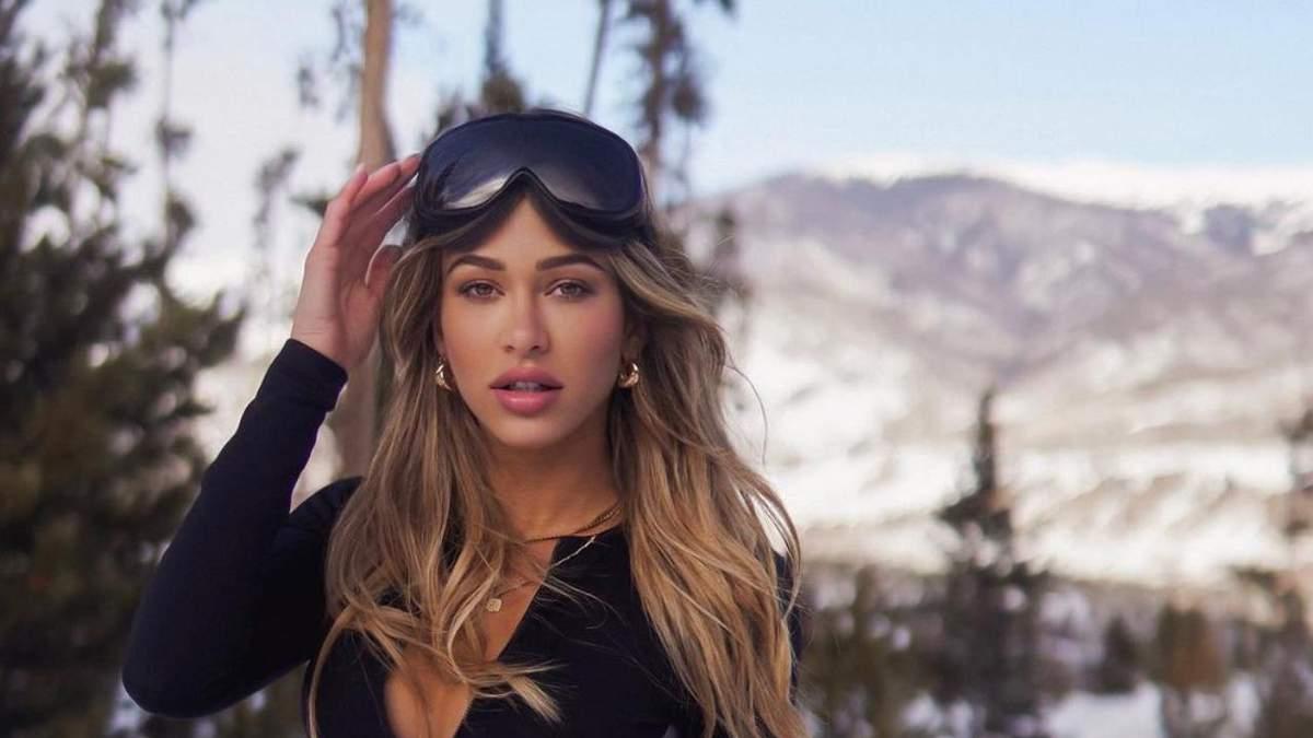 Синди Прадо снялась в соблазнительном лыжном костюме – горячие фото