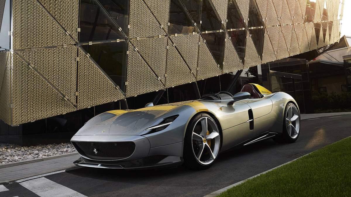 Ferrari Monza SP1 – як виглядає найкрасивіший автомобіль у світі