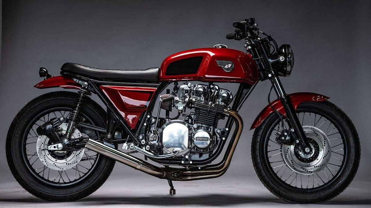 Американці перетворили вінтажний Kawasaki KZ1000 на стильний кастомний байк: фото