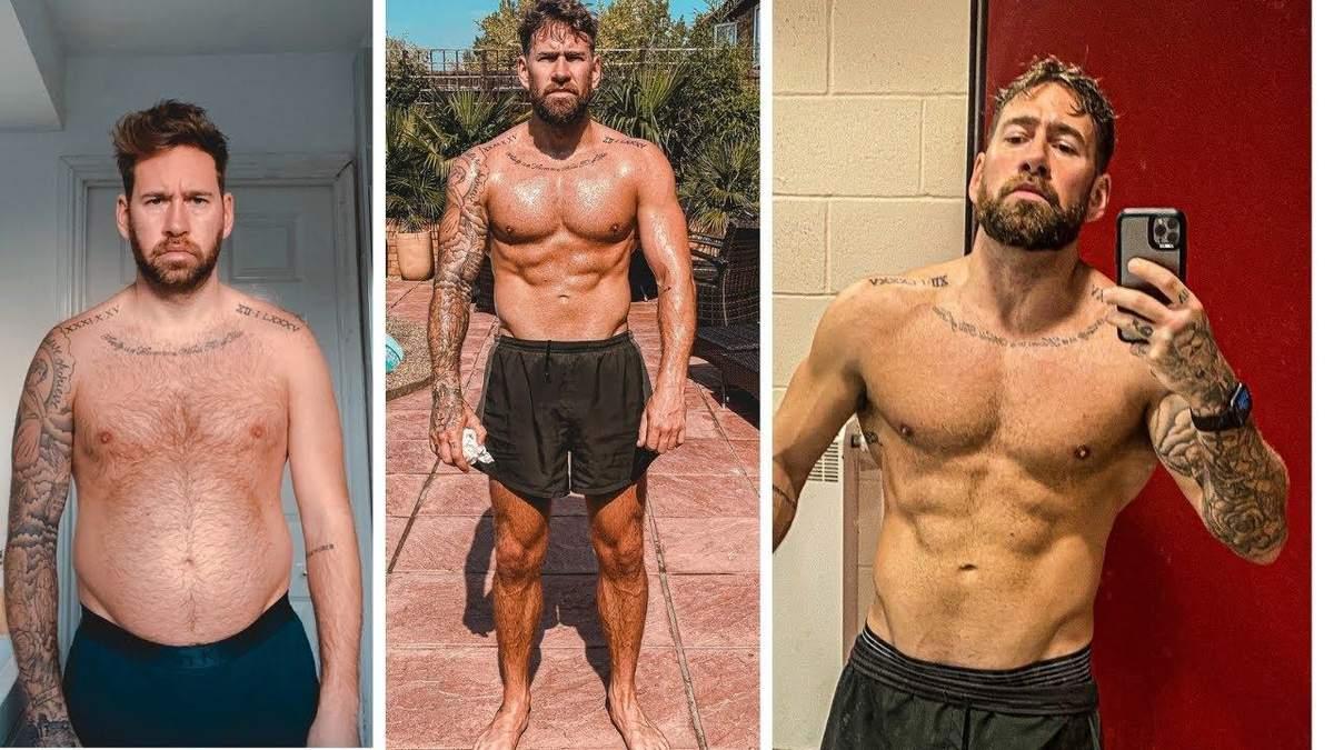 Блогер схуд на 18 кілограмів – зміни в його тілі вражають кожного