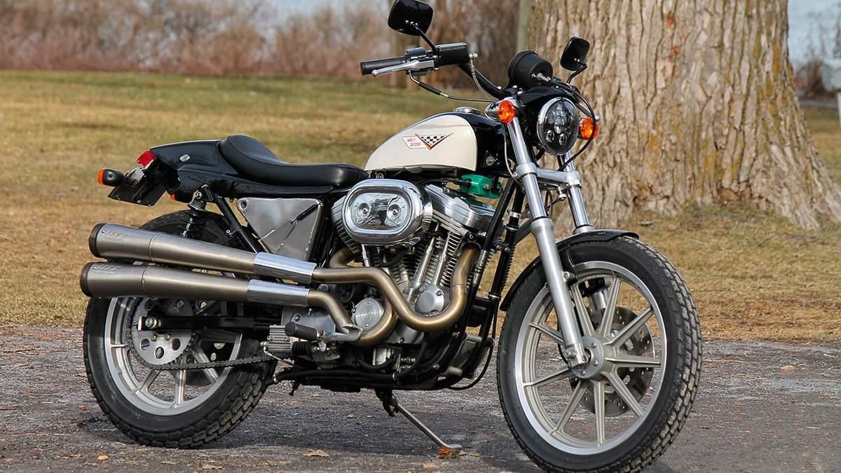 Harley-Davidson XR750 вдруге потрапив до рук майстра – фото байка