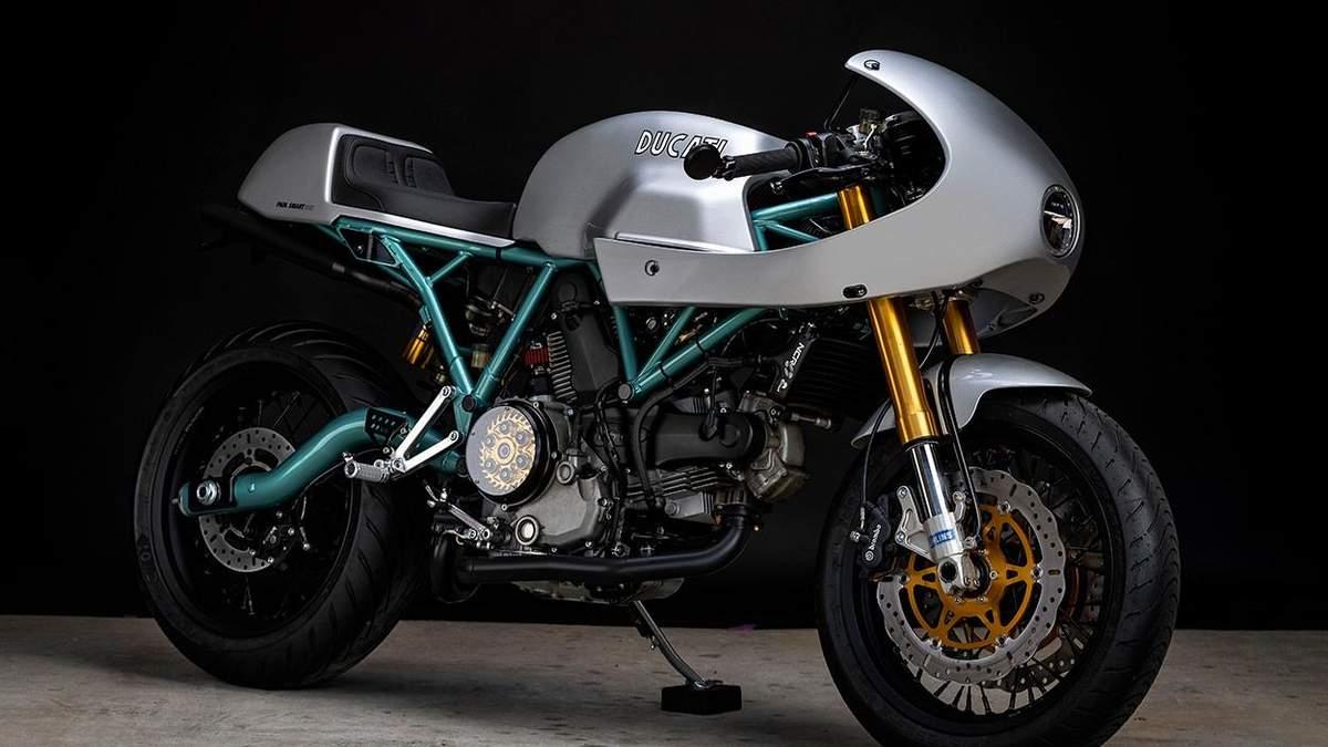 Редкий Ducati PaulSmart 1000 LE превратили в кастомный байк – фото