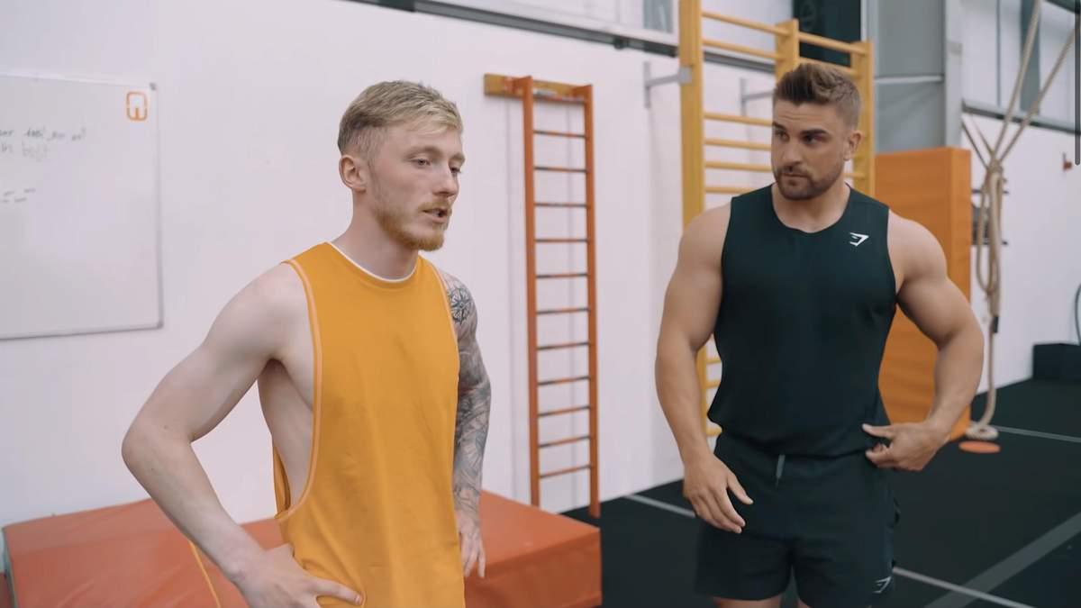 Містер Олімпія виконав тренування олімпійського гімнаста – відео