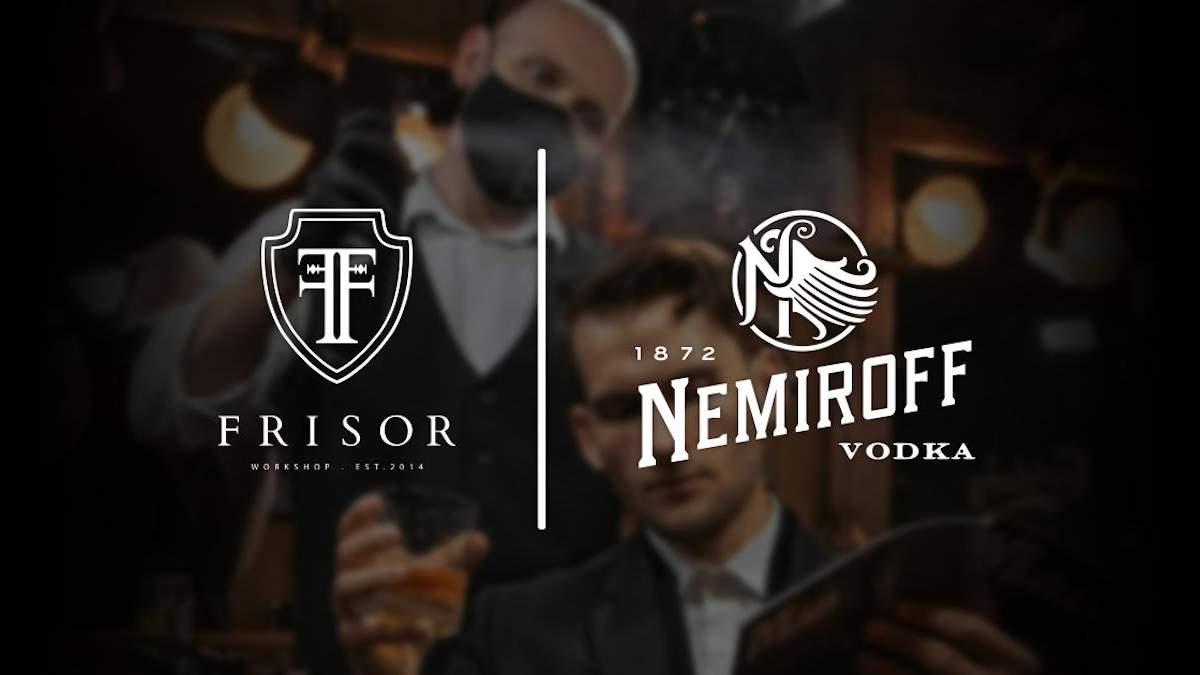 Nemiroff оголосив про співпрацю з мережею барбершопів Frisor