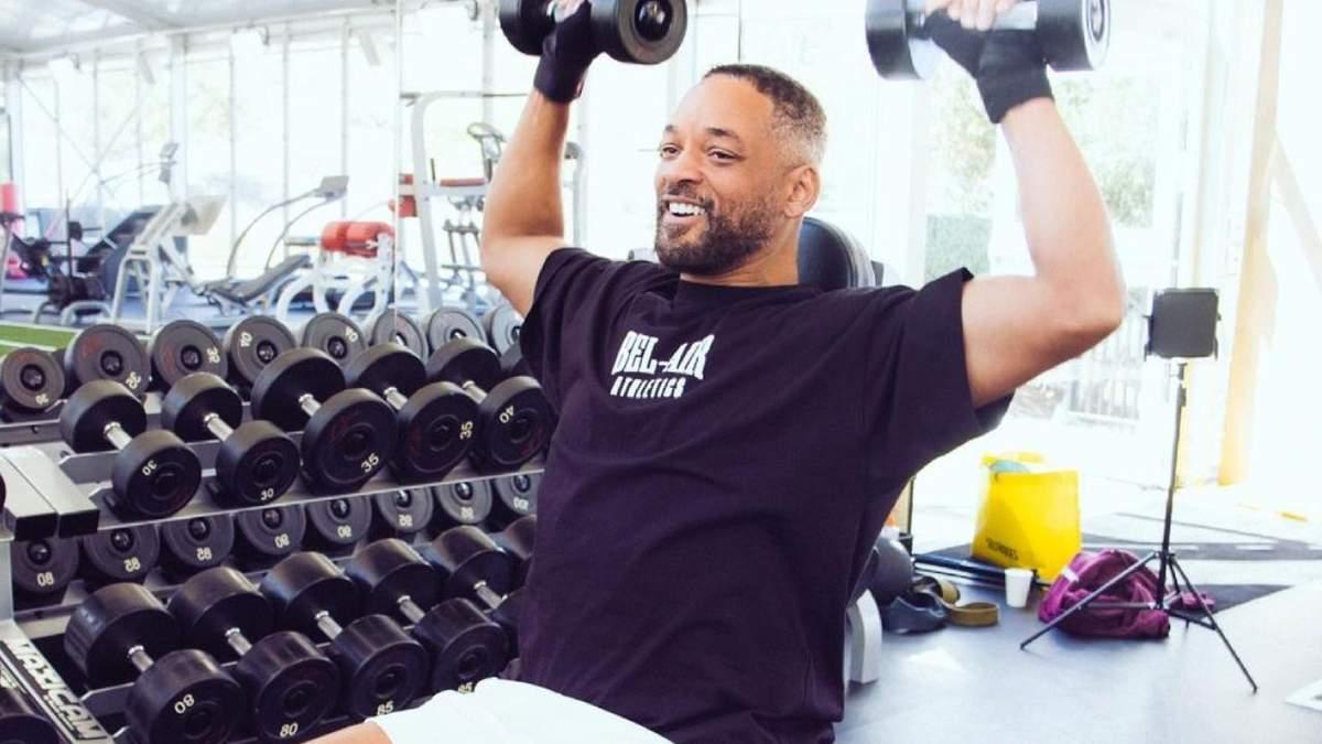 Уилл Смит рассмешил сеть попытками похудеть – смешное видео актера