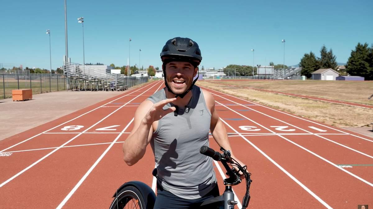 Сумеет ли олимпийский бегун обойти электровелосипед: эпическая дуэль, которая сделает твой день - Men