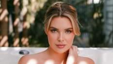 Модель Playboy Сара Гарріс приміряла образ легендарного кролика: гаряче фото