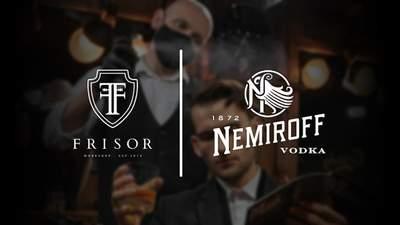 Nemiroff и крупнейшая сеть барбершопов Украины Frisor объявили о сотрудничестве