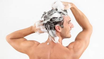 Почему мужчине не следует пользоваться женским шампунем