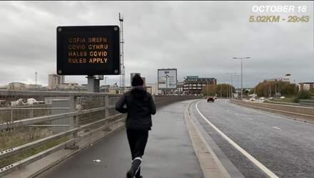 31 день по 5 кілометрів: блогер розповів, як щоденний біг міняє твої життя та тіло