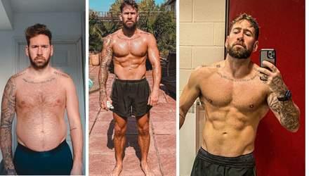 Блогер показав, як за 9 місяців трансформував своє тіло: зміни вражають – відео