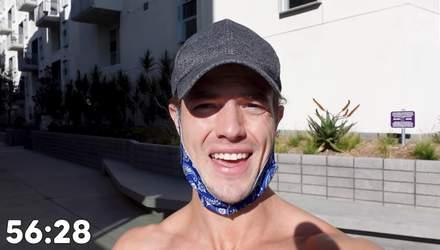 """Блогер показав, як за 30 днів """"комплекс Мерфі"""" змінив його тіло: відео тренувань"""