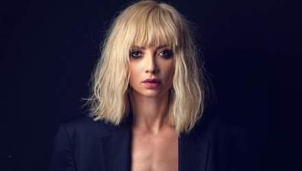 Сексуальная украинская актриса надела жакет на голое тело: горячее фото 18+