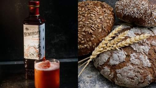 Хлібці у буряковому і щавлевому листі та коктейль Wild Berry Fizz: варіанти фудпейрингу