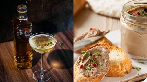 Паштет из печени черноморского ската и коктейль Honey Herbs: варианты фудпейринга